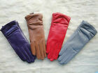 Winter Warm New Women's Girls Real Genuine Lambskin 100% Leather Gloves 8colors