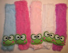 Внешний вид - New Girl Kid Toddler winter Scarf  plush faux fur frog warm  scarf 4 colors