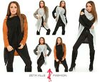 Ladies Warm One Button Long Sleeve Knit Crochet Cardigan One Size UK 10/12 414