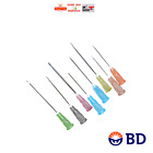 50x 100x BD Sterile Needles MULTI AUCTION 18G-26G Refill Ink FAST SHIP CHEAPEST