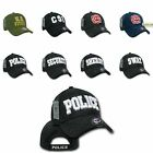 Shadow Embroidered Law Enforcement US USA Baseball Cap Hat Caps Hats Rapid Dom