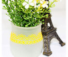 DIY Craft Hollow Lace Sticky Adhesive Tape Sticker Trim decoration 1.8*100CM