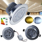 4x 10x 5W LED Recessed Ceiling Light Spotlight Downlight Lamp with Driver Kit UK