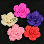 10 Camellias Rose Flower FIMO Polymer Clay Cellphone Case Craft Cover Decoration
