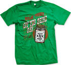Outlaw Whiskey Get Yer Shine On Moon XXX Alcohol FREE SHIPPING New Mens T-shirt