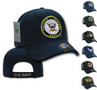 Shadow Embroidery US Military Vet Army Air Force Navy Marines Hats Caps Hat Cap $14.19 USD