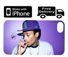Wiz Khalifa Iphone Case (4,4s,5) Purple Bong Smoke