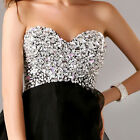 Sexy short party gowns ball evening Cocktail prom dress size 6 8 10 12 14 16 18