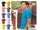 Fruit of the Loom Men's Heavy 100% Cotton HD T-Shirt S-4XL 30 Colors NEW 3930