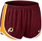 Nike Washington Redskins Tempo Shorts Lined 469822-677 NWT $36 Womens L XL 2XL