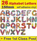 26 Alphabet Self Adhesive decal Letter vw car bug van Glam Rock Kids Room door U