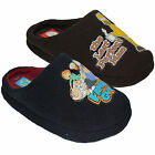 MENS FAMILY GUY COMFORT FLAT WARM WINTER CASUAL HOMER OPEN BACK SLIPPERS SHOES