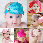 Baby Girls Infants Headband Bow Flower Headwear Hair Band  Decor Different size