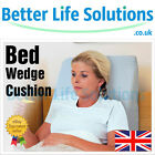 Bed Wedge Cushion | Back & Neck Support Pillow | Washable Cover