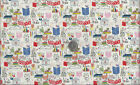 My World Of Smiles I Love to Read I Spy Cat Dog Fabric Alexander Henry By the FQ