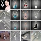 Wholesale 925Solid Sterling Silver Jewelry Pendant Necklace Chain Jewellery xmas