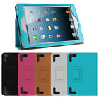 "Universal PU Leather Folio Case Cover stand for 7.9"" 8"" Android Tablet PC PDA DX"
