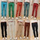 Men's Casual Skinny Stretch Pencil Jeans Trousers Size 28-34 10 Colors