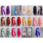 """28"""" 70cm Long Hair Heat Resistant Spiral Curly Cosplay Wig 12 Color"""
