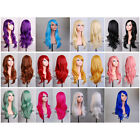 "28"" 70cm Long Hair Heat Resistant Spiral Curly Cosplay Wig 12 Color"