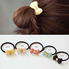 Bowtie Rabbit Animal Acrylic Hair Rope Clip Elasticity Stretchy Wholesale Lots