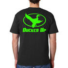 Ducked Up Apparel,duck hunting t shirt,blind,call,decoy,hunter,dynasty