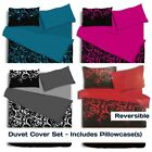 Luxury Bedding Duvet Quilt Cover Sets With Pillow Cases Single Double King Sizes