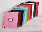 360° ROTATING PU CARRY COVER CASE STAND ROTATE flip for APPLE iPAD Air 9.7 inch