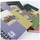 Old Time Vintage Car Wire bound Hardback 200 page Notebook 4 Designs Free Post