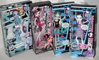 New MONSTER HIGH DOLLS Abbey Draculaura Lagoona Blue Spectra Vonergeist +FREE