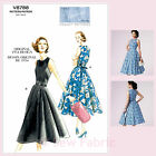 Vogue V8788 Sewing Pattern Misses' Vintage 1950's Dress - Vintage Vogue