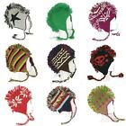 ॐ NEPALESE MOHAWK HATS ॐ nepal FAIR TRADE woolly knitted warm HANDMADE mohican ॐ