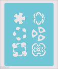 Stencil Decoration Decor  Lots Scrapbook Crafts Paint Wall Decoration Fabric #64