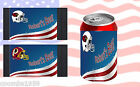 AMERICAN FOOTBALL CAN COOLERS PERSONALISED FREE OF CHARGE $5.68 USD on eBay