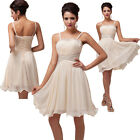 Spaghetti straps Formal Homecoming Prom Ball Gown Cocktail Party Evening Dresses