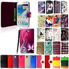 For Samsung Galaxy Note New Printed PU Leather Magnetic Flip Case Cover + Stylus