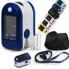 Finger Pulse Oximeter Oxymeter CMS 50DL SPO2 Monitor 6 Colors LED CE FDA