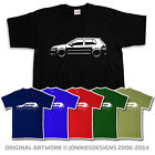VW VOLKSWAGEN GOLF GTI MK4 5DR INSPIRED T-SHIRT - CHOOSE FROM 6 COLOURS (S-XXXL)