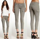 $230 NWT J BRAND JEANS for THEORY HOULIHAN SKINNY CARGO VINTAGE DIM GREY 24 25
