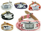 Watch rope Cord Strap Quartz gift girl women lady wife man present valentine