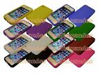 New Silicone Case Cover for Apple iPhone 4 4S UK stock