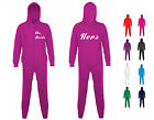 "NEW ADULT MENS WOMENS ""HERS"" ONESIE MARRIED MARRIAGE COUPLE RELATIONSHIP CUTE"