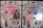 Girls Fairy Party Bags Purple or Pink  Choose From 1 To 6 Bags Cheap Postage