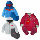 Boys Girls Nike Toddlers Infant Tracksuit Jogging Full  Suit Bottoms Hoodie Top