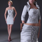 Strapless JS Fashion Short Formal Prom Cocktail Evening Grace Karin Dresses New
