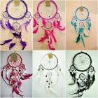 Small 16 cm Native American Indian Dream catcher Silver Red Purple Turquois Pink
