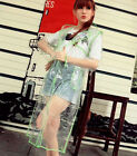 Outdoor Fashion Transparent Raincoat Cloak Rain Coat Waterproof Free Shipping