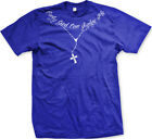 Only God Can Judge Me Christian Cross Rosary Tupac Tattoo Script Mens T-shirt