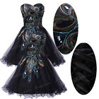 GK Vogue Peacock TUTU Homecoming Short Prom Evening Cocktail Party Gown Dresses