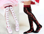 Cute Flower Strawberry Emo Lolita Legging Stocking Thighhigh Sock Dance Cosplay